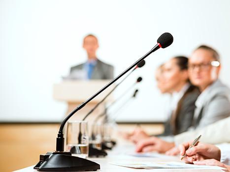Pressekonferenz © adam121, Fotolia