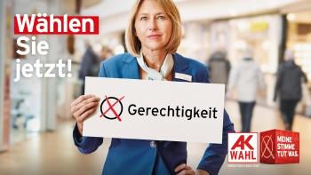 Gehen Sie zur AK Wahl! © Robert Staudinger, TBWA, Bearbeitung Andreas Kuffner