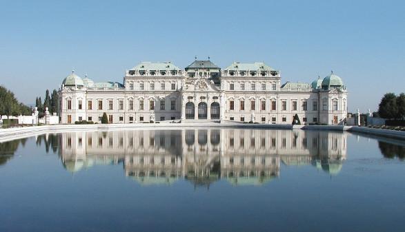 Oberes Belvedere, Südseite © Belvedere, Wien