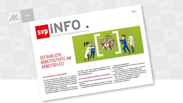 Cover der Broschüre © EU-OSHA, AK Wien