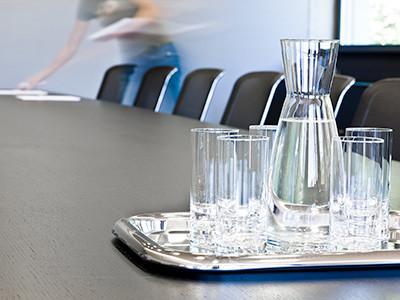 Besprechung im Vorstandssitzungszimmer © Dietmar Walser