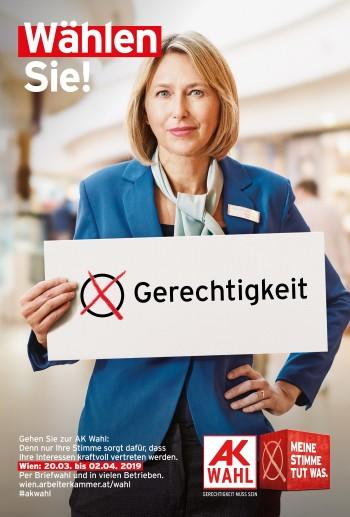 Gehen Sie wählen! © Robert Staudinger, Bearbeitung Andreas Kuffner, TBWA