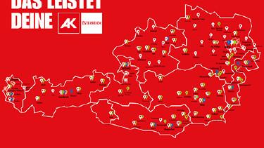 AK Service-Einrichtungen in Österreich © Jose Coll, Arbeiterkammer