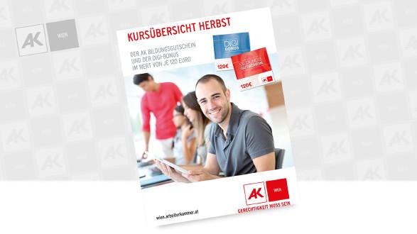 Cover der Broschüre © Goodluz - Fotolia.com, AK Wien