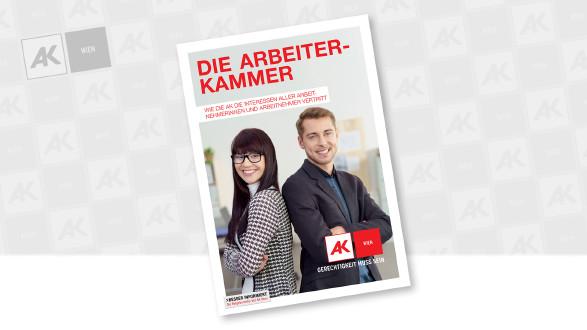 Cover der Broschüre © contrastwerkstatt - stock.adobe.com, AK Wien