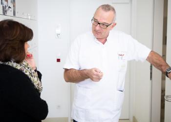 Zu Besuch im Krankenhaus Hietzing © Sebastian Philipp