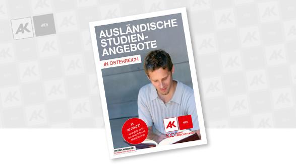 Cover der Broschüre © AK Wien, Dana Heinemann - stock.adobe.com