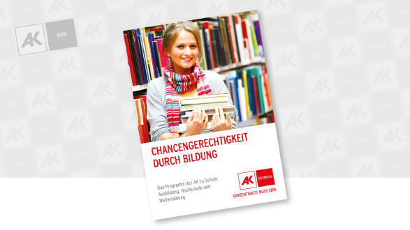 Cover der Broschüre © AK Wien, AK Wien