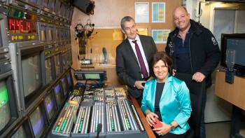 Zu Besuch im ORF © Sebastian Philipp