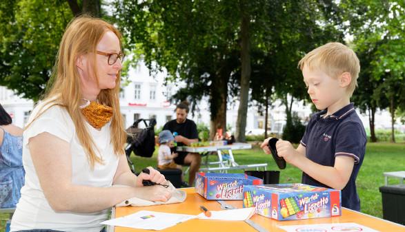 Spiel und Spaß im Arne-Carlsson-Park © AK Wien