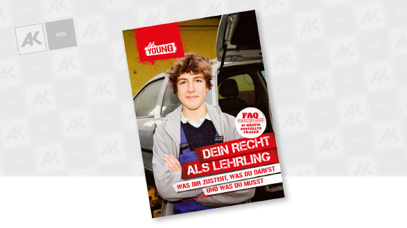 Cover der Broschüre © AK Wien, goodluz - stock.adobe.com