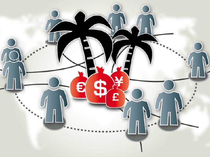 Grafik Geldsäcke Insel © Trueffelpix, Fotolia