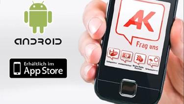 Ein Smartphone mit der AK Mobile App © AK Österreich, AK Österreich