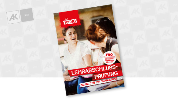 Cover der Broschüre © AK Wien, Christian Schwier - stock.adobe.com
