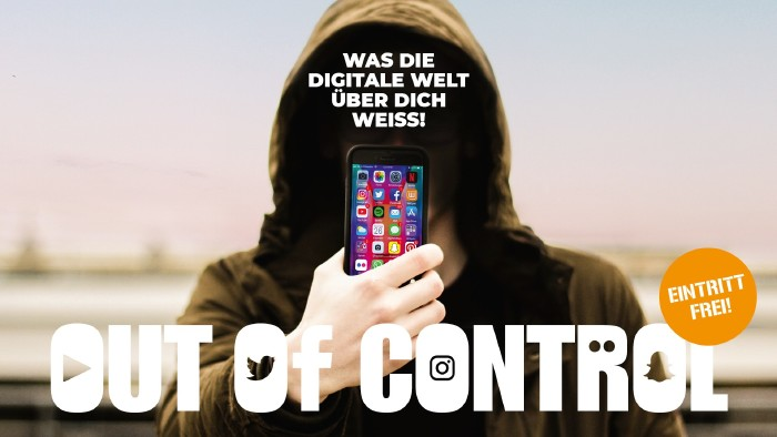 Out of Control – Was die digitale Welt über dich weiß © Andreas Kuffner