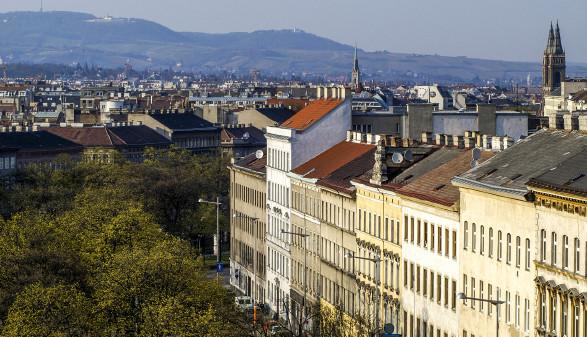 Städtische Bücherei, Hauptbibliothek Wien, Blick zum Gürtel © visuelle Kraft
