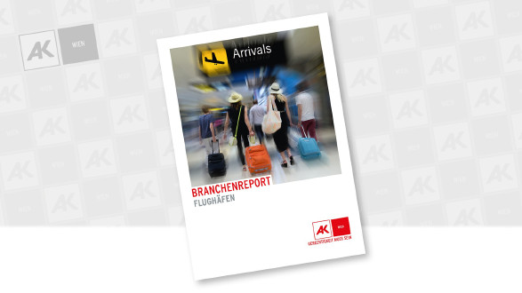 Ankunftshalle auf einem Flughafen © Coverfoto © Robert Wilson - stock.adobe.com, AK Wien