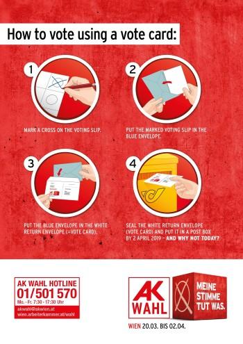 So wählen Sie per Wahlkarte © AK