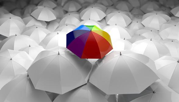 Regenschirme © Krm_Design - stock.adobe.com