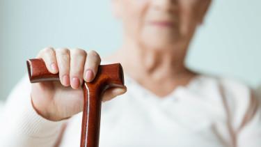 Pensionistin mit Stock © Photographeeeu, stock.adobe.com