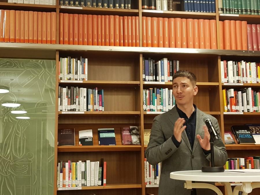 Dr. Benjamin Opratko bei der Preisverleihung 2019 in der AK Wien © AK Wien, AK Wien
