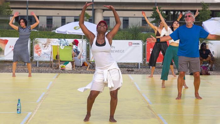 Public Moves: Karine LaBel, Afro-Haitian Dance  © Karolina Miernik