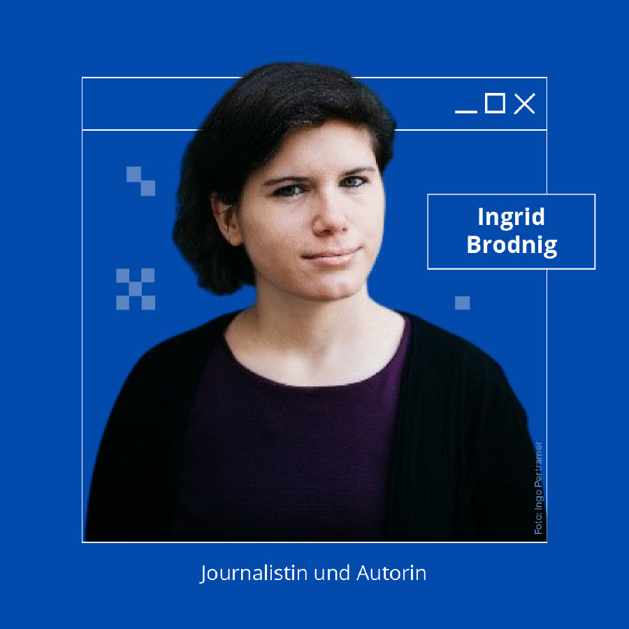 Ingrid Brodnig © AK Wien, Foto: Ingo Pertramer