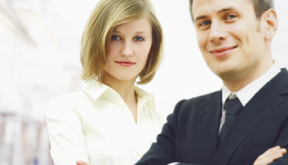 Frau und Mann - Gleichbehandlung! © helix, Fotolia.com