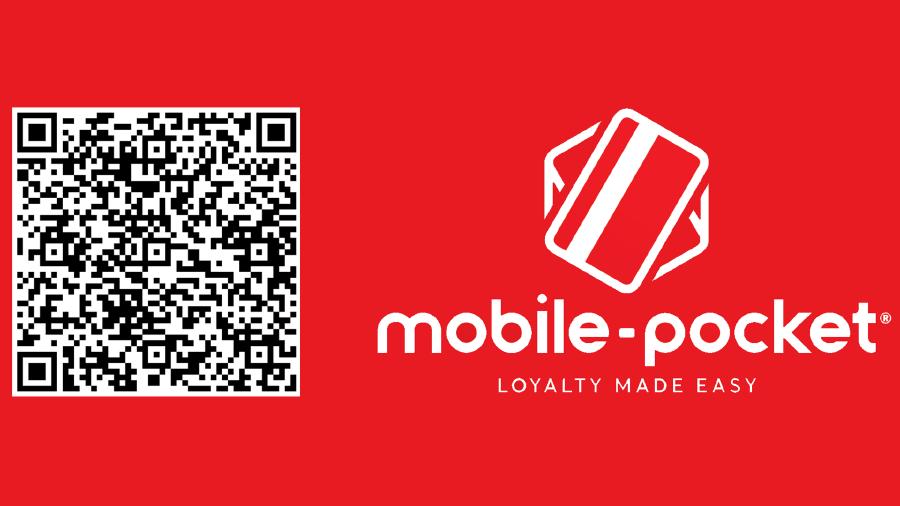 mobile pocket-Logo und QR Code © mobile pocket