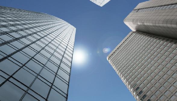 Wolkenkratzer privater Unternehmen © Aamon, Fotolia