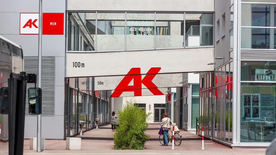 AK Wien Beratungszentrum Ost - Kagran © Lukas Ilgner, AK Wien