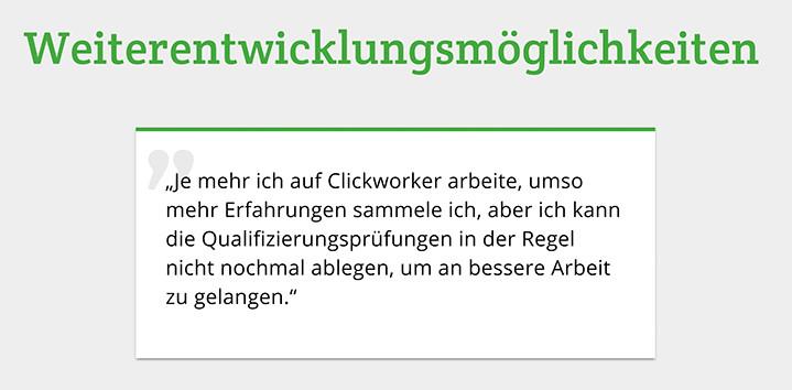 Crowdworker berichtet ... © ÖGB, AK