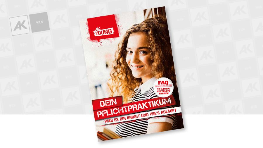 Cover der Broschüre © AK Wien, Halfpoint - stock.adobe.com
