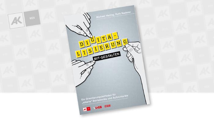 Deckblatt einer Broschüre © AK Wien