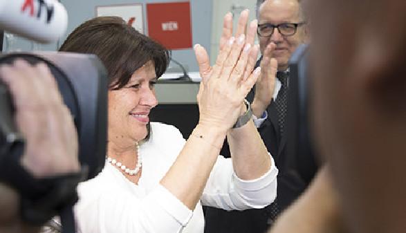 Renate Anderl zur neuen Präsidentin der AK Wien gewählt: erhielt 92,26 Prozent Stimmen der Vollversammlungsmitglieder © Sebastian Philipp, AK Wien