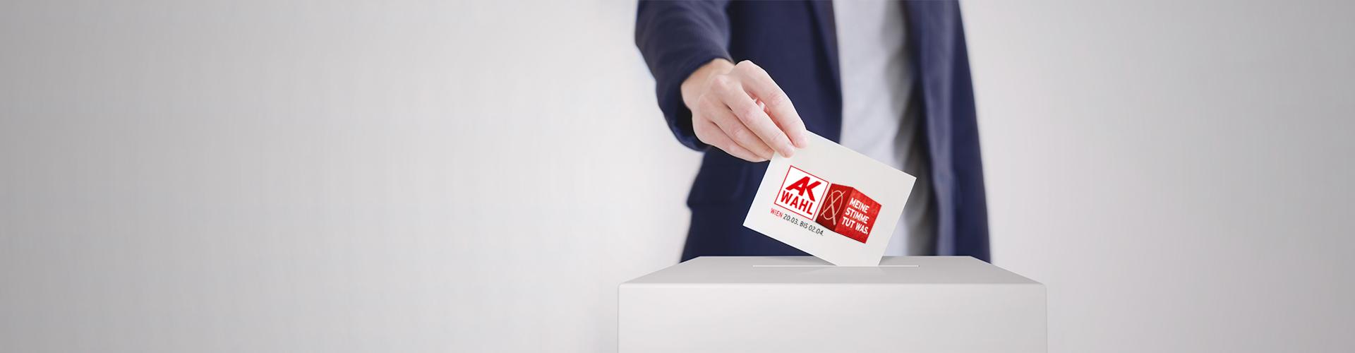 Die AK Wahlen finden in Wien vom 20.3. bis 2.4.2019 statt. © Anton Sokolov, adobe.stock